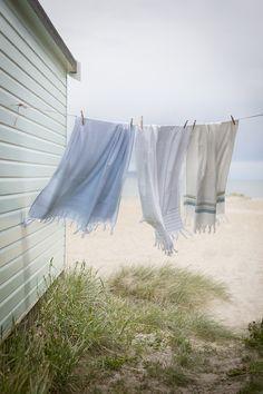 beach cottage summer trip to Daytona with the Murrays Cottages By The Sea, Beach Cottages, Turkish Towels, Summer Breeze, Summer Days, Coastal Living, Coastal Style, Seaside, Beach House