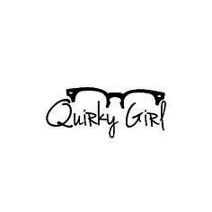 Quirky, Quirky Girl, Logo, Logo design, typography, Glasses, Graphic design