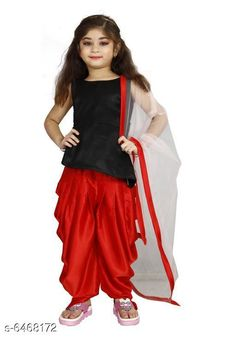Checkout this latest Clothing Set Product Name: *Attractive Kids Girls Clothing Set* Top Fabric: Cotton Blend Sleeve Length: Sleeveless Top Pattern: Solid Bottom Pattern: Solid Multipack: Single Add-Ons: No Add Ons Sizes: 1-2 Years (Top Chest Size: 21 in, Bottom Waist Size: 22 in, Bottom Length Size: 22 in)  2-3 Years, 3-4 Years (Top Chest Size: 23 in, Bottom Waist Size: 23 in, Bottom Length Size: 25 in)  4-5 Years, 5-6 Years (Top Chest Size: 25 in, Bottom Waist Size: 24 in, Bottom Length Size: 28 in)  6-7 Years, 7-8 Years (Top Chest Size: 27 in, Bottom Waist Size: 25 in, Bottom Length Size: 31 in)  8-9 Years, 9-10 Years (Top Chest Size: 30 in, Bottom Waist Size: 26 in, Bottom Length Size: 34 in)  10-11 Years, 11-12 Years (Top Chest Size: 32 in, Bottom Waist Size: 27 in, Bottom Length Size: 37 in)  12-13 Years, 13-14 Years (Top Chest Size: 34 in, Bottom Waist Size: 28 in, Bottom Length Size: 40 in)  14-15 Years (Top Chest Size: 36 in, Bottom Waist Size: 29 in, Bottom Length Size: 43 in)  15-16 Years (Top Chest Size: 38 in, Bottom Waist Size: 30 in, Bottom Length Size: 46 in)  Easy Returns Available In Case Of Any Issue   Catalog Rating: ★3.9 (273)  Catalog Name: Cutiepie Elegant Girls Top & Bottom Sets CatalogID_1029440 C62-SC1147 Code: 538-6468172-6132