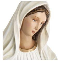 Nossa Senhora Medjugorje fibra vidro 60 cm PARA EXTERIOR | venda online na HOLYART Catholic Altar, Exterior, Fictional Characters, Religious Pictures, Fiber, Outdoors, Fantasy Characters