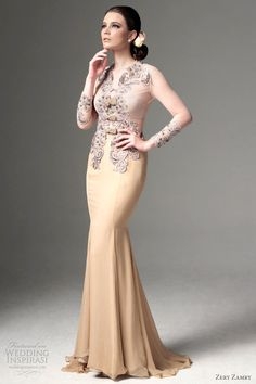 zery zamry bridal kebaya: 2nd Wedding? or MOB?