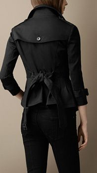 Stretch-Cotton Trench Jacket | Burberry