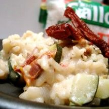 Meatless Main Dishes: Zucchini Risotto