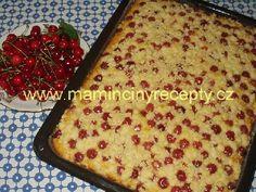 Drobenkový koláč s ovocem