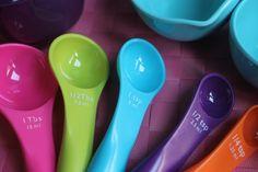 Cups, Tablespoons & Teaspoons Omrekenen van verschillende maten en gewichten