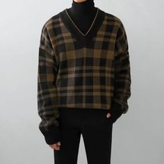 Retro Outfits, Classy Outfits, Casual Outfits, Fashion Outfits, Mode Man, Swaggy Outfits, Mode Streetwear, Sweater Shop, Pullover