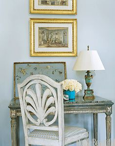 Decorating Ideas with Soft Colors - Beach House Decorating - House Beautiful