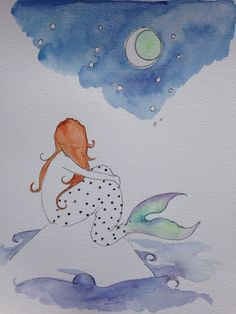 A personal favorite from my Etsy shop https://www.etsy.com/listing/229292213/original-watercolor-painting-9-x-12
