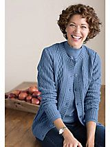 Cable Cardigan by Koret