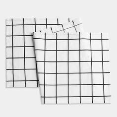 Grid Black Euro Runner