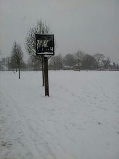 Old Coulsdon in snow
