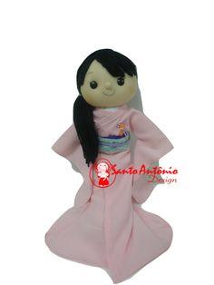 Boneca Daminha de Kimono