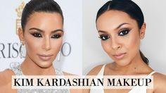 Kim Kardashian Makeup Tutorial - Cannes Makeup Look - TrinaDuhra