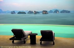 Koh Yao Noi, Phang Nga, Thailand; The view from a pool villa in Six Senses is the best on the island.