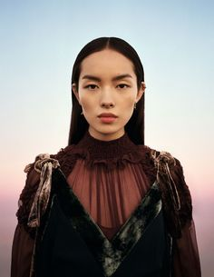 """midnight-charm: """" FeiFei Sun photographed by Ben Toms for Vogue China December 2016 Stylist: Robbie Spencer """""""