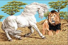 horse and Lion - Google Search