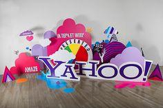 New York Internet Week by Jared Kozel, via Behance