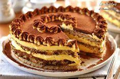 La Torta al tiramisù è un dolce semplice e goloso. La ricetta prevede la pastorizzazione delle uova crude, non riuscirete a farne più a meno