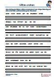 #Saetze #ordnen 3.Klasse #Tuerkisch Arbeitsanweisungen sind in den Lösungen in Türkisch übersetzt. Arbeitsblätter / #Uebungen / Aufgaben für den Rechtschreib- und #Deutschunterricht - Grundschule.  Es handelt sich um 270 Sätze, die auf 34 Arbeitsblätter verteilt sind. Die folgenden Wörter sind zu Sätzen zu ordnen und in der richtigen Reihenfolge aufzuschreiben.