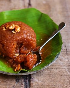 Ashoka halwa recipe with step by step photos. Today in Diwali 2016 sweets recipes series I am sharing the ever popular Tanjore/ thriuvaiyaru style Ashoka halwa recipe. Ashoka halwa recipe is made of moong dal and wheat flour. Indian Dessert Recipes, Sweets Recipes, Ethnic Recipes, Diwali Recipes, Indian Recipes, Curry Recipes, Vegetarian Recipes, Cooking Recipes, Paneer Masala Recipe