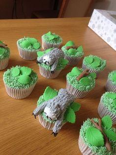 Birthday cupcakes ideas for teens life 58 ideas for 2019 Cute Baby Sloths, Cute Sloth, Fancy Cakes, Cute Cakes, Sloth Cakes, My Spirit Animal, Birthday Cupcakes, Cute Food, Snacks