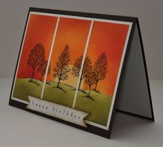Lovely as a Tree - Stampin Up