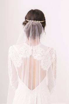 wedding hairstyles with veil | Chignon with hair piece and veil #weddingveils #bridalveil