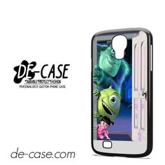 Monster Inc In Door DEAL-7398 Samsung Phonecase Cover For Samsung Galaxy S4 / S4 Mini