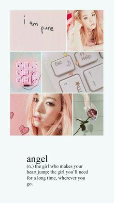 She's a angel Velvet Wallpaper, Pink Wallpaper, Red Aesthetic, Kpop Aesthetic, Peek A Boo, Tumblr Wallpaper, Wallpaper Lockscreen, Red Velvet Irene, Kpop Girl Groups