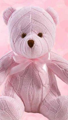 DIY Knit a Pink Teddy-bear