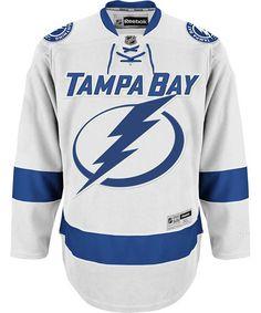 f1742e2f146 Tampa Bay Lightning Reebok Premier Away Jersey - White Steven Stamkos