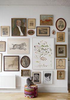 Multi tree poster - by fine little day. frames on wall, poster frames, Kitchen Gallery Wall, Board And Batten Siding, Design Blogs, Design Ideas, Wall Decor, Wall Art, Scandinavian Home, Home Decor Inspiration, Decor Ideas