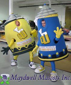 Oktoberfest - Beer stein mascots