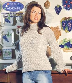 Grape Pullover in Adriafil Point - Downloadable PDF. Discover more patterns by Adriafil at LoveKnitting. We stock patterns, yarn, needles and books from all of your favourite brands.