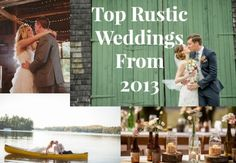 Top Rustic Weddings From 2013