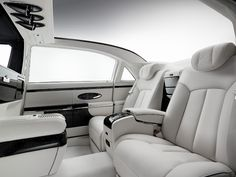Maybach 62 - Excellence Refined - Interior - This is classy