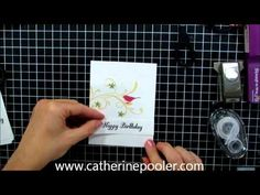Mass Producible Card Making - How to Rubber Stamp