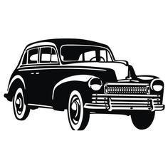 Old car scroll saw pattern 2