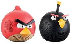 Caixas de som do Angry Birds!