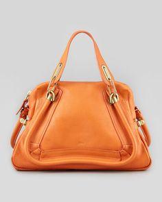 Paraty Medium Shoulder Bag in orange