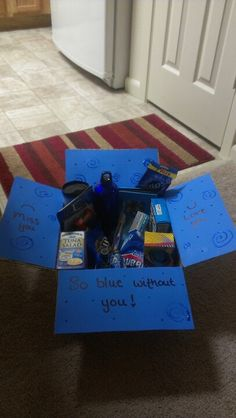 So blue without you deployment box