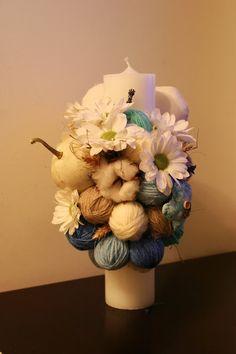 Flowers of Soul: Inima realizata si brodata manual Christening, Wedding Flowers, Vase, Handmade, Decorations, Home Decor, Homemade Home Decor, Hand Made, Flower Vases