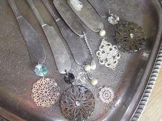 Vintage Silverware Ornaments OOAK assemblage by tawnystreasures, $38.00