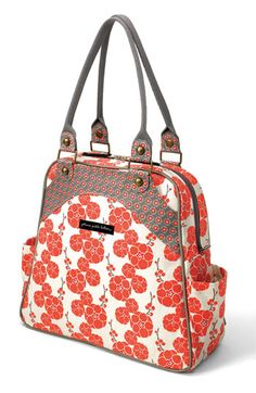 Disney, It's a Small World by Petunia Pickle Bottom 'Sashay Satchel' Organic Cotton Diaper Bag available at Nordstrom
