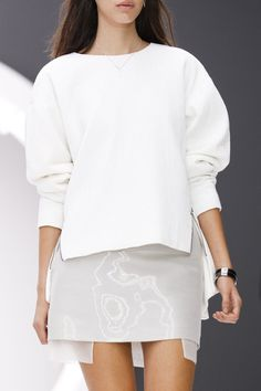 white and light gray- Topshop Unique, Spring 2013.