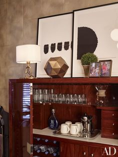 An office makeover featuring pieces from Ralph Lauren Home