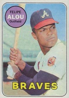 felipe%2Balou%2Bbaseball%2Bcard   1969 Topps Felipe Alou #300 Baseball Card