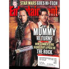 Cover Print of Entertainment Weekly, May 11 2001 | $3.61