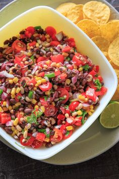 Cowboy Caviar (aka Texas Caviar) is a simple salsa / bean salad with a complex flavor! Beans + fresh veggies herb-lime dressing that is hard to resist. Cowboy Caviar, Texas Caviar, Beef Recipes, Cooking Recipes, Vegan Recipes, Caviar Recipes, Roasted Cherry Tomatoes, Easy No Bake Desserts, Dessert Recipes