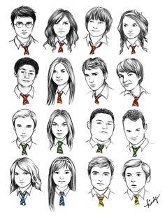 HP portraits